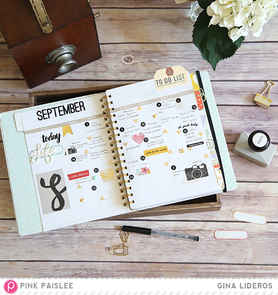 Pink Paislee Memory Notebook