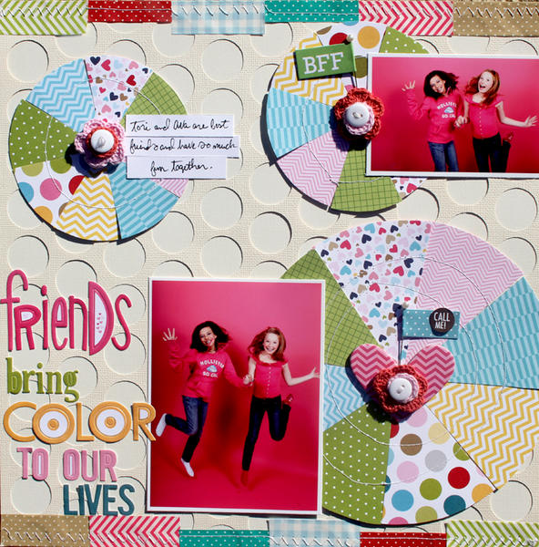 Friends Bring Color