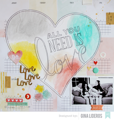 All You Need is Love *American Crafts DT