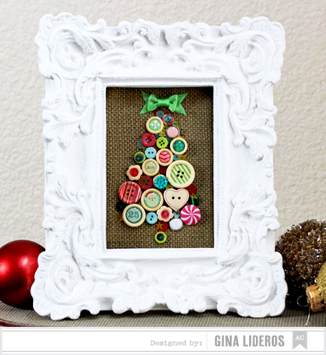 Button Tree Frame *American Crafts DT