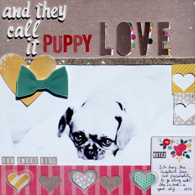 Puppy Love *American Crafts DT