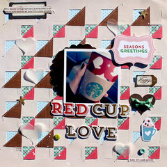 Red Cup Love *American Crafts