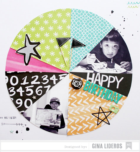 Happy Birthday *American Crafts DT