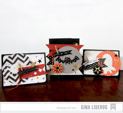 Halloween Card Trio *American Crafts DT