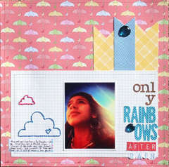 only rainbows after rain