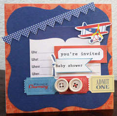 you're invited baby shower card