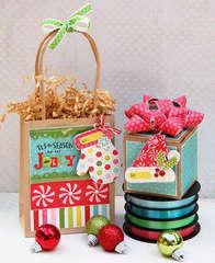 Tis the season gift wrap & tag set