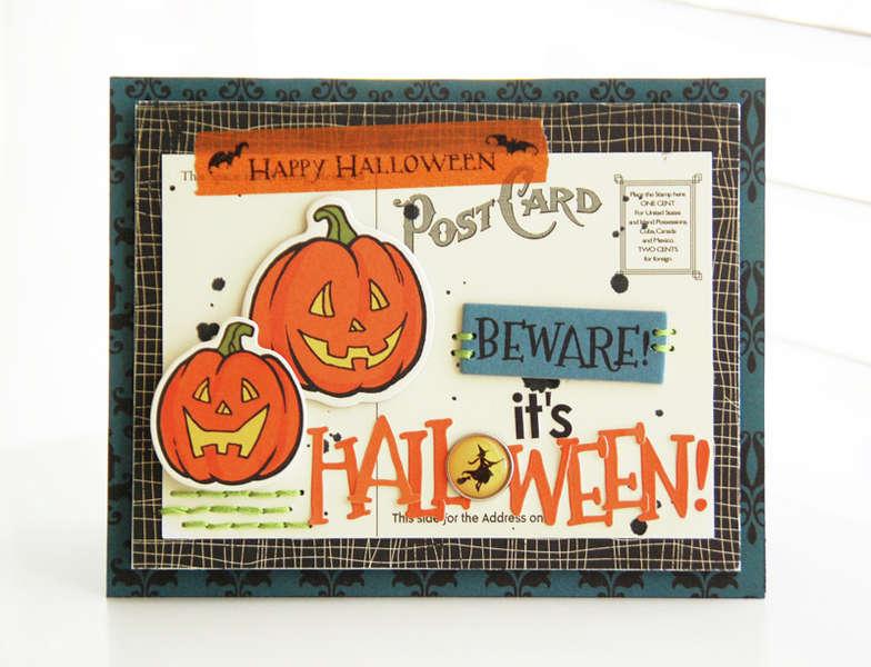 Beware! It's Halloween!  **October Afternoon**