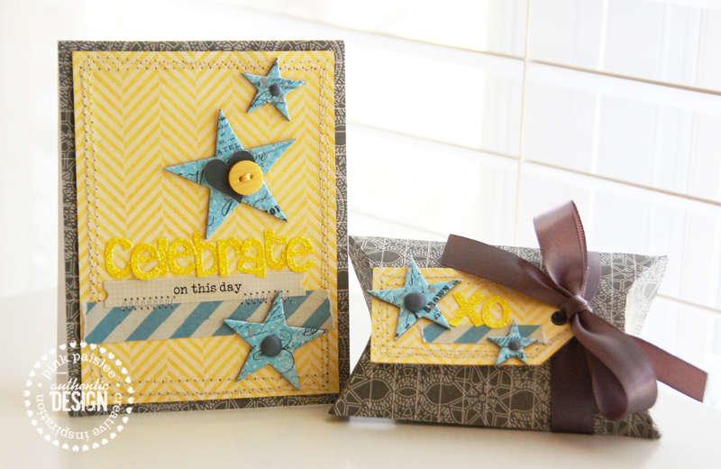 Celebrate gift set  **Pink Paislee**