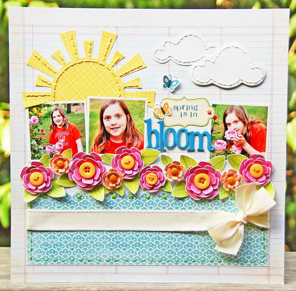 Spring is in Bloom  {Mission to Create}