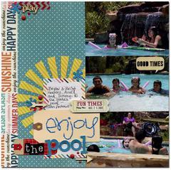 enjoy the pool
