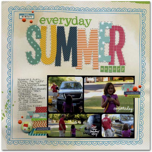 everyday summer memory