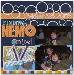 finding nemo on ice page 1 (front)