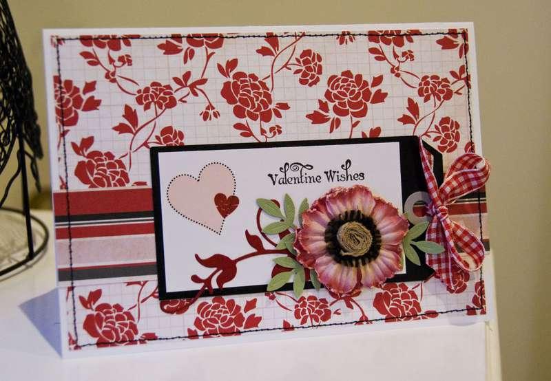 Valentine Wishes Card