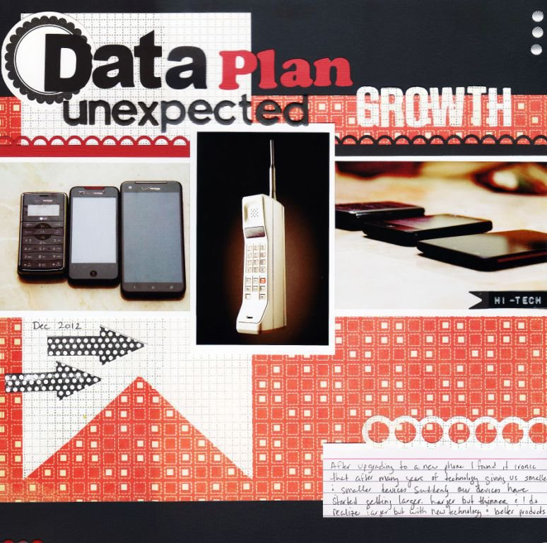 Data Plan, unexpected growth