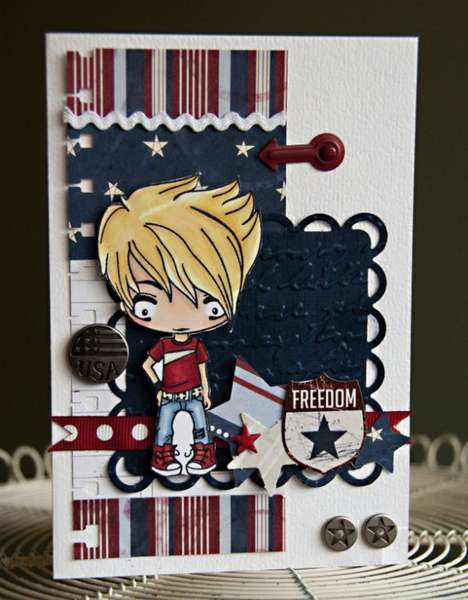 TGF - Patriotic Card
