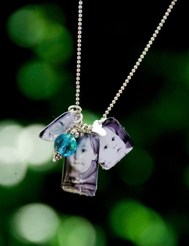 Little Windows Resin Necklace