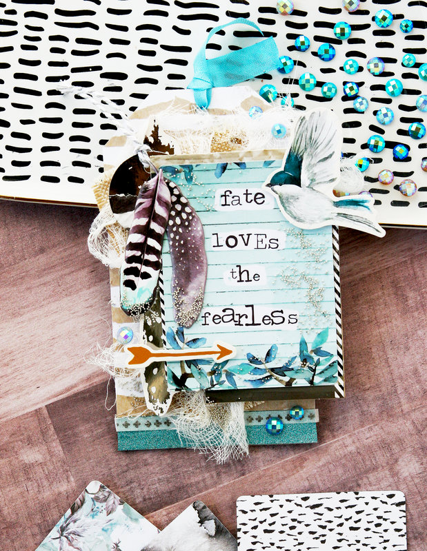 Zella Teal Collection Tag