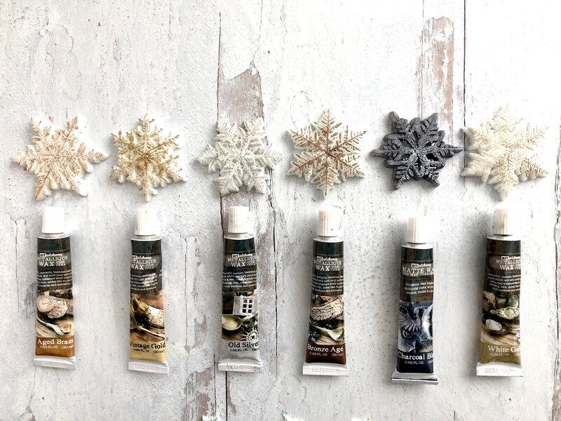 Creating Snowflake Embellishments