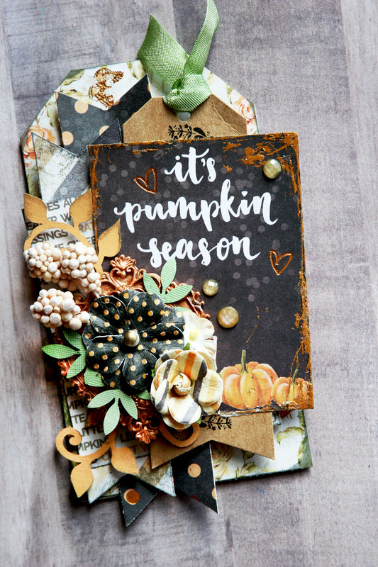 It's Pumpkin Season Tag
