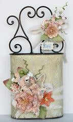 Fairy Rhymes Altered Tin