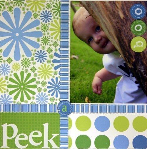 Peek A Boo (Pixel Decor)