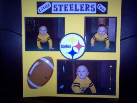 Little Steelers Fan