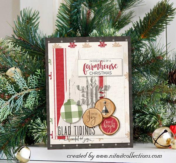 Farmhouse Christmas Card Idea
