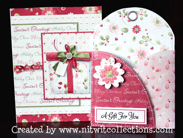 Gift Card Holder and Card - Hybrid Scrapbooking