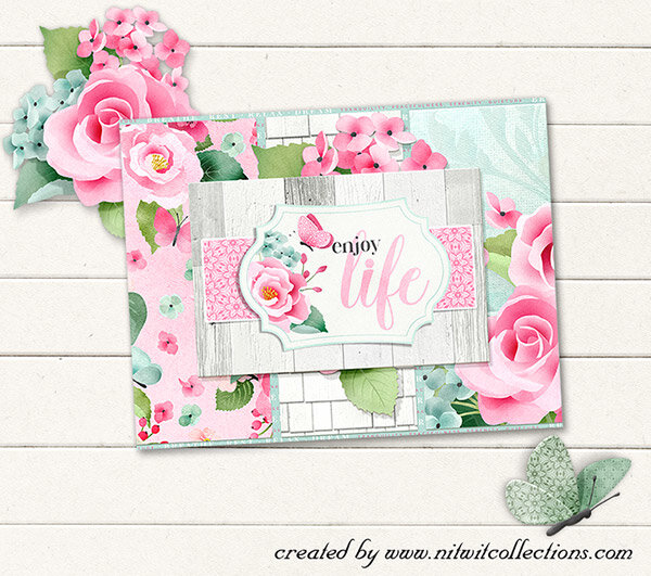A Floral Card For Many Occasions