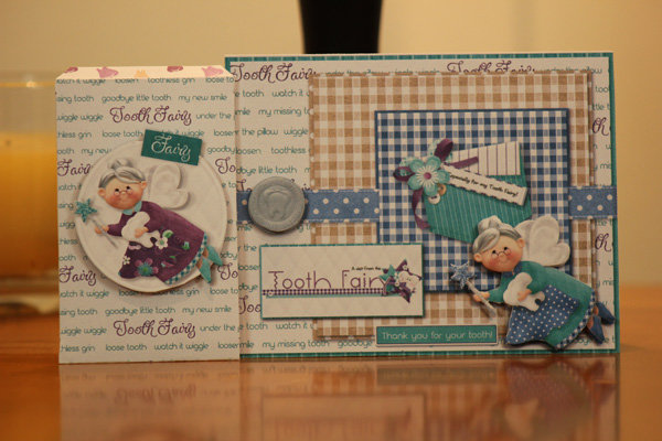 Tooth Fairy Sachet and Card