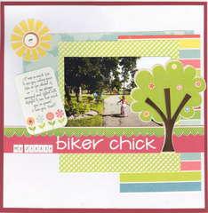 My Little Biker Chick