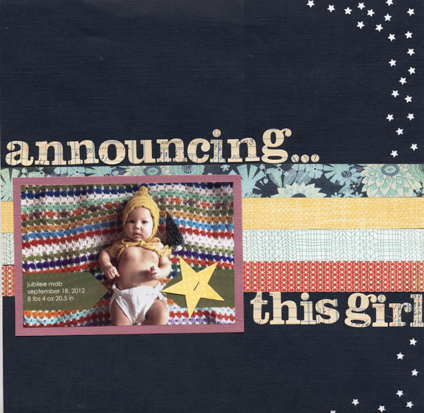 announcing this girl
