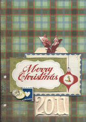 Christmas Card Book Cover