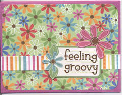 feeling groovy card