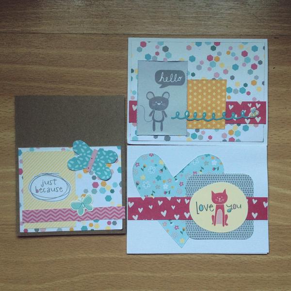 My girl cards