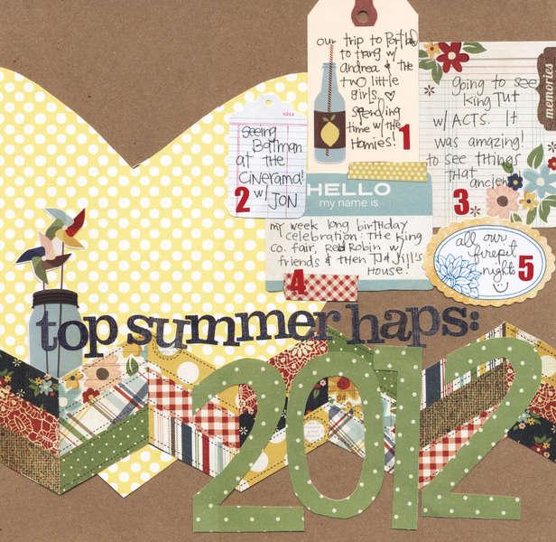 top summer haps