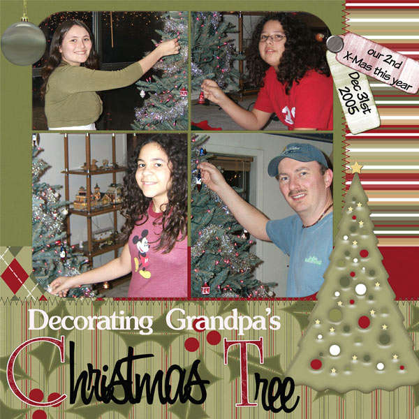 Decorating Grandpa's Christmas tree page1