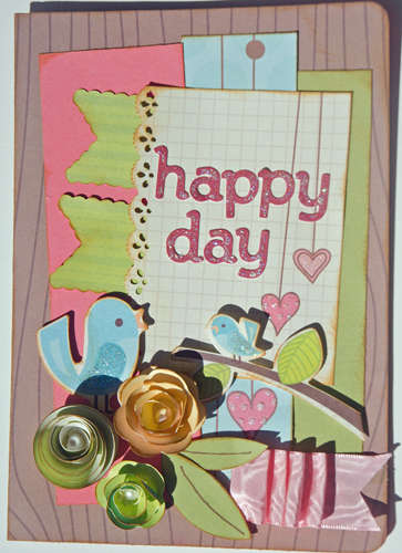 Happy Day Card {My Little Shoebox}