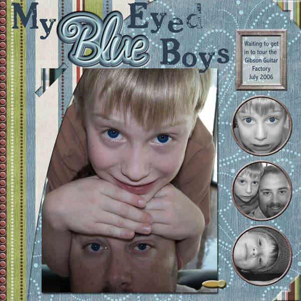 My Blue Eyed Boys