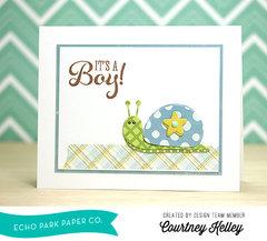 Echo Park Paper: It's A Boy!
