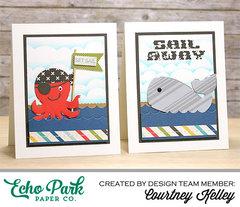 Echo Park Paper: Set Sail & Sail Away.