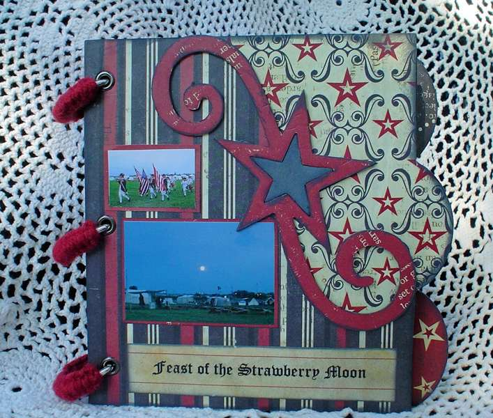 *Rusty Pickle* Mini Book - Feast of the Strawberry Moon Cover