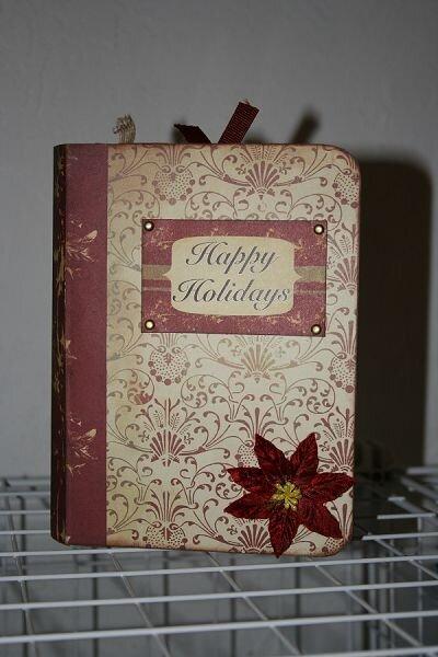 *Happy Holidays* Cosmo Cricket/Maya Road Album Cover