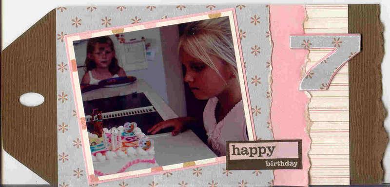 Birthday Tag Book 01