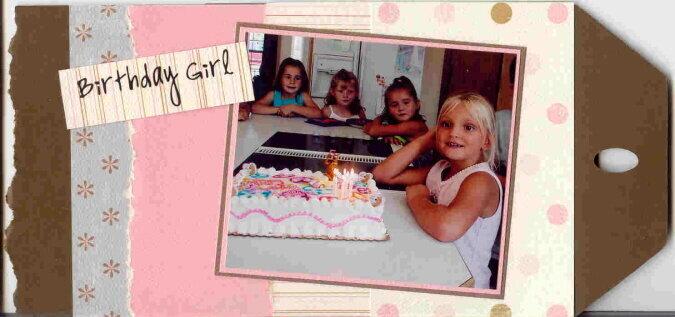 Birthday Tag Book 02