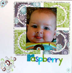 I blow you a raspberry