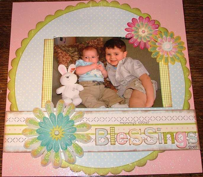 Mommy's Easter Blessings