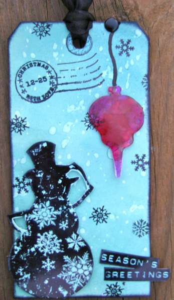 Tim Holtz Twelve Tags of Christmas 2011 - Day 11