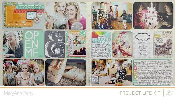 Project Life Week 46 {Studio Calico January Kit}